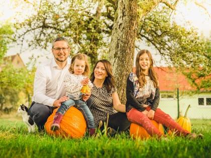 Familienshooting in der Nähe von Crailsheim